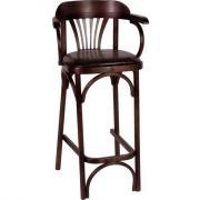 Барный стул Венской Аполло 75см с мягким сиденьем