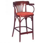 Барный стул Аполло КМФ 305-01-2, 75см мягкое сиденье