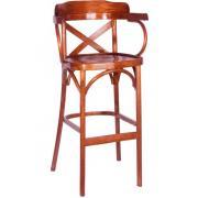 Барный стул венский Аполло Кантри с жестким сиденьем