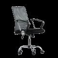 Компьютерное кресло К-147 (Серая ткань / Серая сетка)