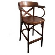 Барный стул Венеция КМФ 305-4 Х-обр. 750см
