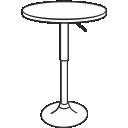 Барные столы в стиле лофт