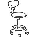 Лабораторные стулья
