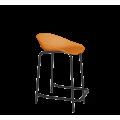 Полубарный стул SHT-ST19/S29-1 оранжевый/черный