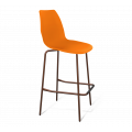Стул барный SHT-ST29/S29 оранжевый оранжевый ral2003/медный металлик
