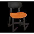 Стул SHT-S85 черный/оранжевый/черный
