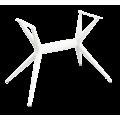 Основание для стола SHT-TU30-2 белый