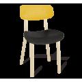 Стул SHT-S85  желтый/черный/бежевый