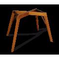 Основание для стола SHT-TU9-2 светлый орех