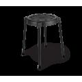 Табурет SHT-S36 черный/черный