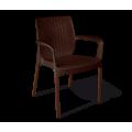 Стул SHT-S68 коричневый/коричневый муар