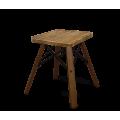 Стул SHT-ST9/S70 деревянный дуб брашированный/темный орех