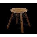Деревянный стул SHT-ST16/S70 дуб брашированный/темный орех