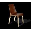 Стул SHT-S75 коричневый коричневый/ваниль