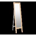 Зеркало напольное Альберо SHT-М1 прозрачный лак