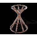 Основание для стола SHT-TU4-1 медный металлик