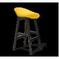 Барный стул SHT-ST19/S65 желтый/венге