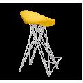 Стул барный SHT-ST19/S66 желтый желтый/хром лак