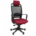Офисное кресло Chairman   283      Россия 26-23 бордовый
