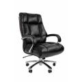 Офисное кресло Chairman 405 Россия экопремиум  черное
