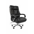 Офисное кресло Chairman 405 Россия кожа черное
