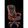 Офисное кресло Chairman   game 22 Россия экопремиум черный/красный
