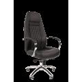 Офисное кресло Chairman 950 Россия экопремиум черный