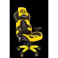Кресло Chairman  game 25 Россия экопремиум черный/желтый