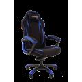 Геймерское кресло Chairman Game 28 черный/синий