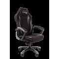 Геймерское кресло Chairman Game 28 черный/серый