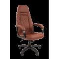 Офисное кресло Chairman 950 LT Россия экопремиум коричневый