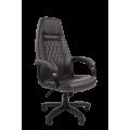 Офисное кресло Chairman 950 LT Россия экопремиум серый