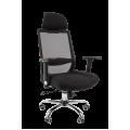Офисное кресло Chairman    555    Россия   LUX   TW черный